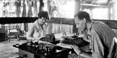 Margaret Mead and Gregory Bateson, Middle Sepik, 1938