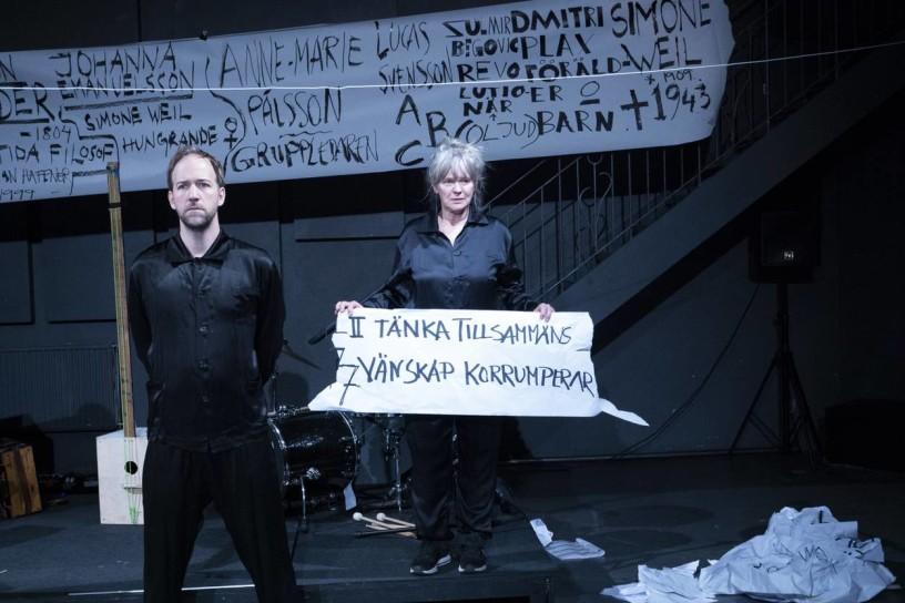 Mattias Redbo och Maria Ericson. Foto: Jac Carlsson